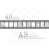 AB Studio Rubber Stamp ID-327. Kummitempel