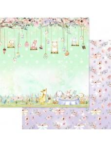 12x12 (30x30 cm) Dreamland - Tea Party disainpaberileht