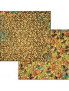 12x12 Dreams Of Autumn-Pumpkin Spice disainpaber