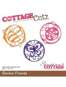 CottageCutz lõiketera. Garden Friends
