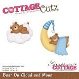 CottageCutz lõiketera. Bear On Cloud and Moon