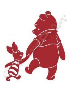 Disney Pooh and Piglet lõiketera. Karupoeg Puhh ja Notsu