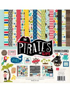 Echo Park Pirates Life 12x12 Inch Collection Kit. Paberikollektsioon