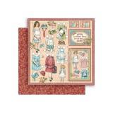 12x12 Pennys Paper Doll - Sweet Sister disainpaberileht