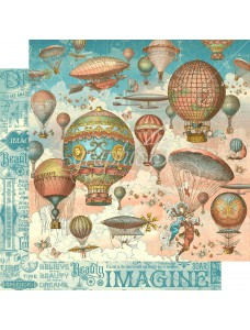 12x12 Imagine - Up and Away disainpaberileht