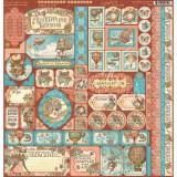Imagine Cardstock Stickers 12x12 (30x30 sm) kleepsud