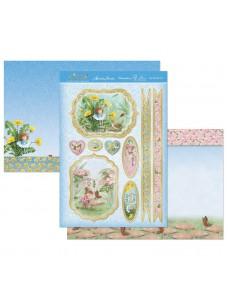 Kaartide valmistamise komplekt. Garden Secrets Luxury Topper Set - Special Little Girl