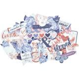 Misty Mountains Collectables Cardstock Die-Cuts. Väljalõiked
