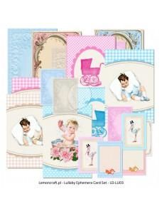Lullaby - Ephemera cards. Kaardid