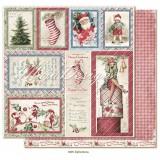 12x12 Christmas Season - Ephemera disainpaberileht