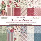 Christmas Season 6x6 (15x15 sm) paberiplokk