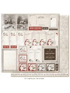 12x12 A Gift for You - Die cuts sheet. Sildid ja kaardid
