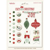 My Minds Eye Cozy Christmas Brads. Needid