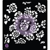 15x15 sm Stencils - Wild Flowers. Trafarett