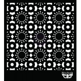 15x15 sm Stencils - Doily. Trafarett