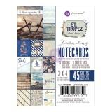 3x4 Journaling Cards-St. Tropez. Kaardid