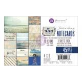 4X6 Journaling Cards-St. Tropez. Kaardid