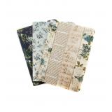 Prima Travelers Journal Passport Refill Notebook Georgia Blues. Märkmikud, 3 tk