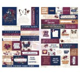 DARCELLE - Quote and Word Stickers. Kleepsud tekstidega