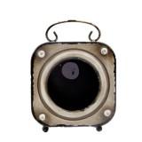 Finnabair Altered Metal Frame. Alarm CLock. Toorik metallist. Äratuskell.