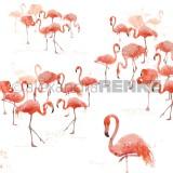 12x12 Flamingo group international disainpaber