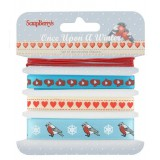 Set of decorative ribbons Once upon a Winter. Pael. Komplekt