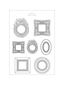 Stamperia Soft Mould A4 size Frames. Pehme PVC vorm modelleerimiseks