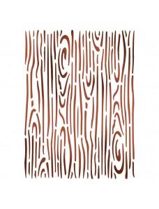 Stamperia Stencil D cm. 20x15 Wood effect. Trafarett