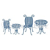 Tattered Lace lõiketera - Table and Chairs