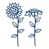 Tattered Lace lõiketera - Sunflowers
