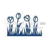 Tattered Lace lõiketera - Tulips
