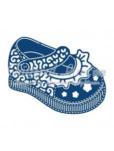Tattered Lace lõiketera - Baby Girl Shoe