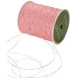 May Arts Ribbon, Natural Burlap String. Jute nöör. Roosa