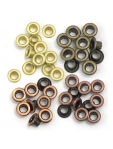 Eyelets Standard 60/Pkg. Öösid. Warm Metal